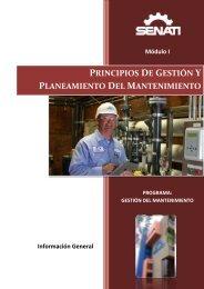 PRINCIPIOS DE GESTIÓN Y PLANEAMIENTO DEL MANTENIMIENTO