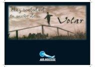 Puedes descargarte nuestro folleto en PDF - AIR-HOSTESS
