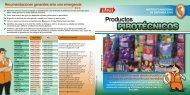 Medidas de prevención ante Productos Pirotécnicos - Indeci