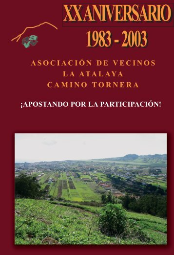 LIBRO ATALAYA.qxd - Asociación de Vecinos La Atalaya