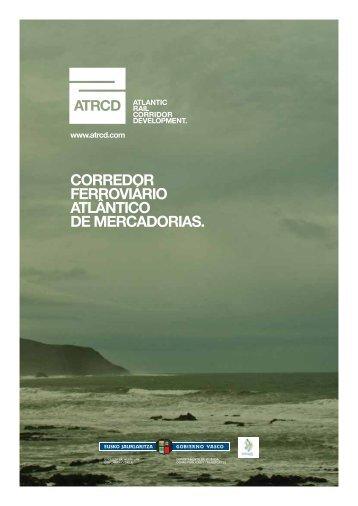 corredor ferroviário atlântico de mercadorias. - Arc Atlantique