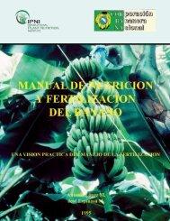 MANUAL DE NUTRICION Y FERTILIZACION DEL BANANO La