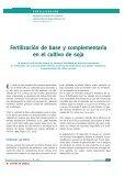 Fertilización fósforo-azufrada en soja. Estrategias basadas en dosis ... - Page 6