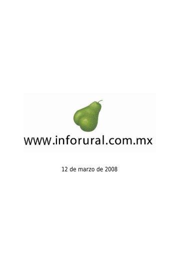 INFORURAL 12 DE MARZO DE 2008