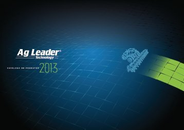 Monitores - Ag Leader Technology