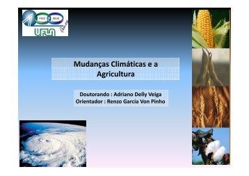 Mudanças Climáticas e a ç Agricultura - PRPG