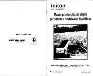 Abrir - Bienvenidos a la Biblioteca del INIFAP