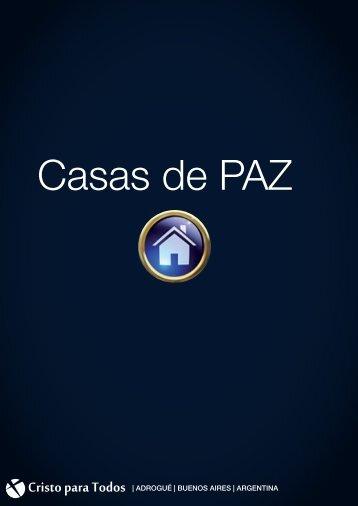 Casas de PAZ - Iglesia Cristo Para Todos - Adrogue
