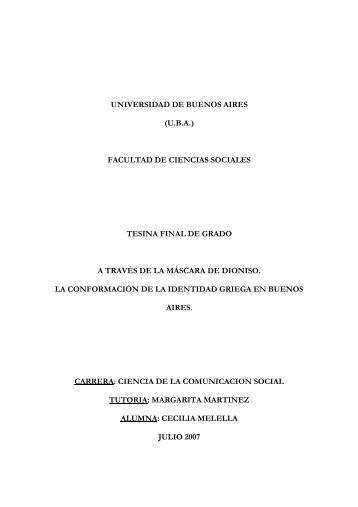 universidad de buenos aires (uba) facultad de ciencias sociales ...