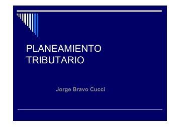 Planeamiento Tributario - Jorge Bravo.pdf - CCPP
