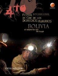 CATALOGO 2008 - festival internacional de derechos humanos