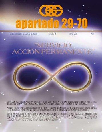 Apartado 29-70 #242 - Central Mexicana de Servicios Generales de ...