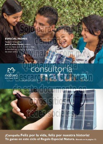 consultoría - Natura