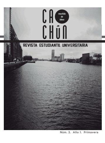 Descárgalo en PDF - Revista Cachún - UNAM