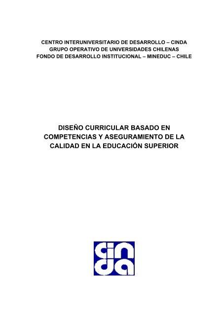 Dise C3 B1o Curricular Basado En Competencias Y