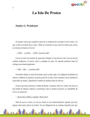 Weinbaum _Stanley G-La Isla De Proteo1
