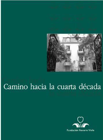 Descargar publicación - Fundación Navarro Viola