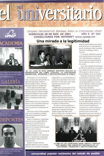 Una mirada a la legitimidad - Biblioteca - Universidad Popular ...