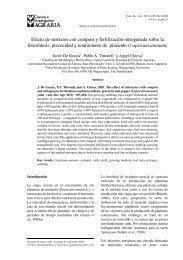 Efecto de sustratos con compost y fertilización nitrogenada ... - SciELO