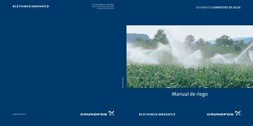Manual de riego - Grundfos