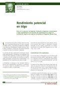 Rendimiento potencial en trigo - Page 6