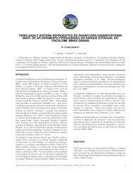fenologia e sistema reprodutivo de passiflora haematostigma mast ...