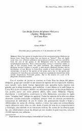 Las abejas jicotes del género Melipona - Revista de Biología ...