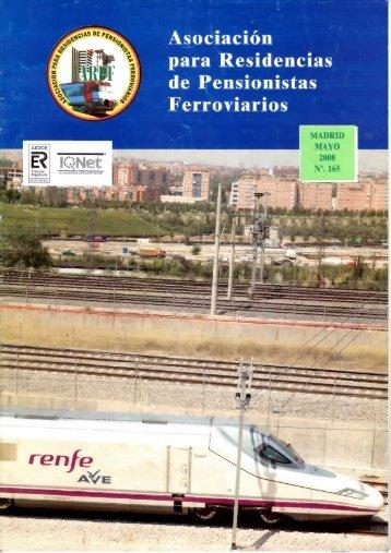 Asociación para Residencias de Pensionistas Ferroviarios rente