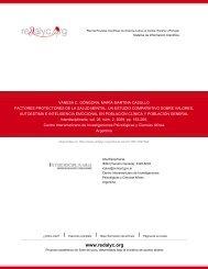 Redalyc.FACTORES PROTECTORES DE LA SALUD MENTAL: UN ...