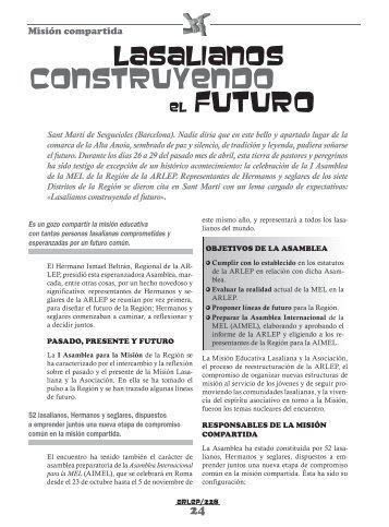 construyendo el futuro - La Salle