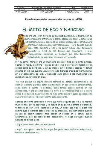 E/El mito de Narciso y Eco.pdf - Navarra