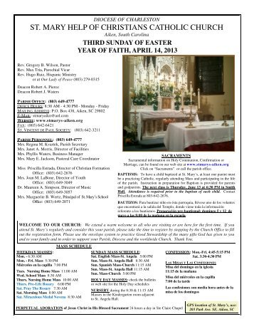 Third Sunday of Easter - pressOmatic