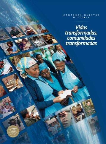 Vidas transformadas, comunidades transformadas - Sociedad Bíblica