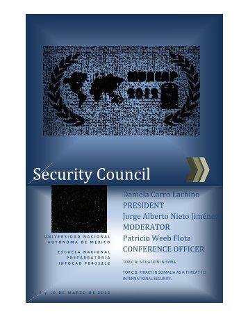 Security Council - munenp