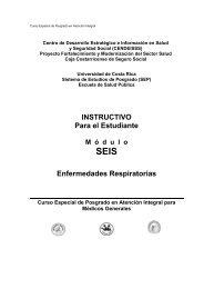 INSTRUCTIVO Para el Estudiante Enfermedades ... - CENDEISSS