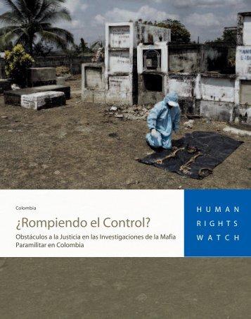 ¿Rompiendo el Control?: Obstáculos a la Justicia en - OLADD