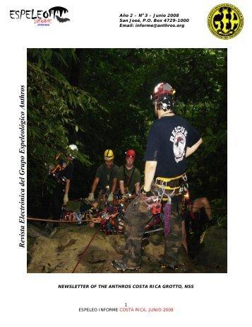 Revista Electrónica del Grupo Espeleológico Anthros - Karst ...