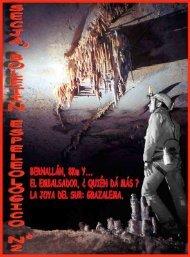 Boletín Espeleológico SECJA, nº 2 (2000)