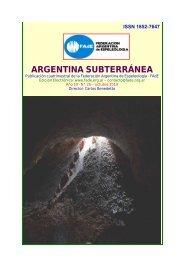 ARGENTINA SUBTERRÁNEA