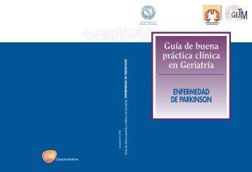 Guía de buena práctica clínica en Geriatría. ENFERMEDAD