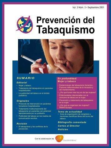 Tabaquismo - Centro de Documentación sobre Desarrollo ...