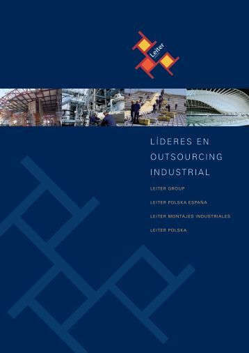 LÍDERES EN OUTSOURCING INDUSTRIAL