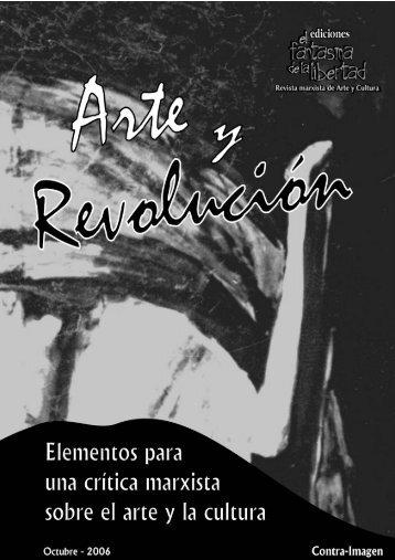 arte revolucionario y arte socialista - Memoria para Reincidentes
