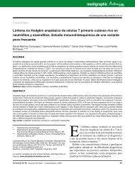 Linfoma no Hodgkin anaplásico de células T primario cutáneo rico ...