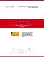 Redalyc.Extraversión y deambulación de la rata en el campo abierto