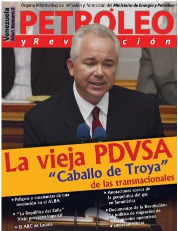 Petróleo y Revolución - Año 1 - Ministerio del Poder Popular de ...