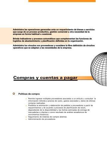 Compras y cuentas a pagar - Business Logic Paraguay
