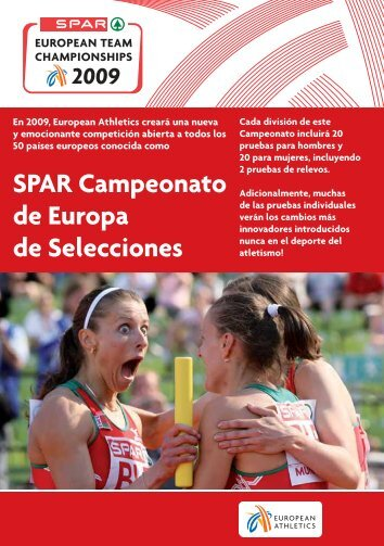 Copa de Europa de Selecciones - European Athletic Association