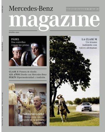 Link a la revista Mercedes Otoño 2011 - Mercedes-Benz España