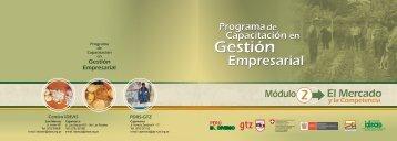 Programa de capacitación en gestión empresarial (módulo 2)